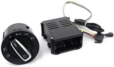 Ormax Light Sensor & Auto Euro Head Light Switch Retrofit Kit for VW Jetta/Bora MK4
