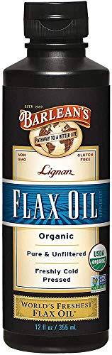 Barlean's, aceite de lino orgánico de...