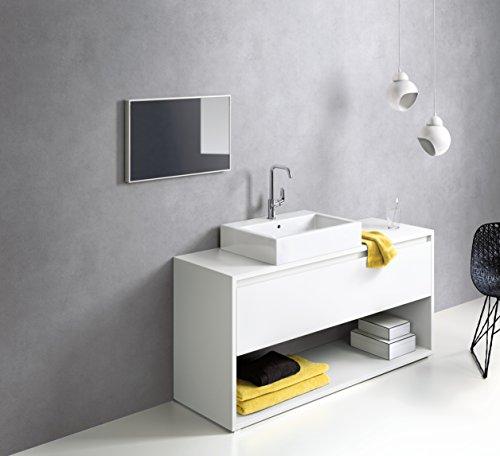 Hansgrohe – Einhebel-Waschtischarmatur, ohne Ablaufgarnitur, Temperaturbegrenzer, Chrom, Serie Focus 240 - 2
