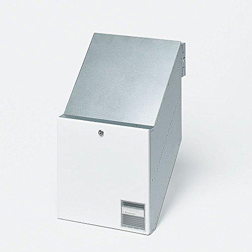 Siedle 2543563 Durchwurfbriefkasten NACH DIN 32617 BKV 611-3/3-0 W, weiß