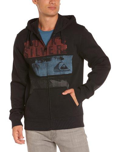 Quiksilver B1 MSP Herren Kapuzen-Sweatshirt mit Reißverschluss schwarz FR: XXL (Größe Hersteller: XXL)