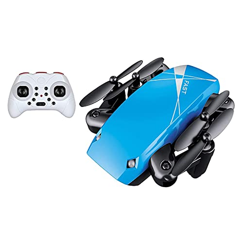 zmigrapddn Drone S9 con cámara 2.4G Quadcopter Plegable Mini RC Drone, Accesorios de Repuesto RC ( Color : Blue )