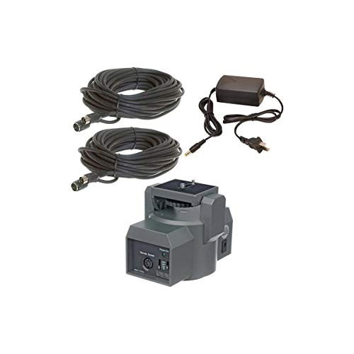 Bescor MP2XL Motorized Pan and Tilt Head Kit with Power Supply and 100' Remote Extension