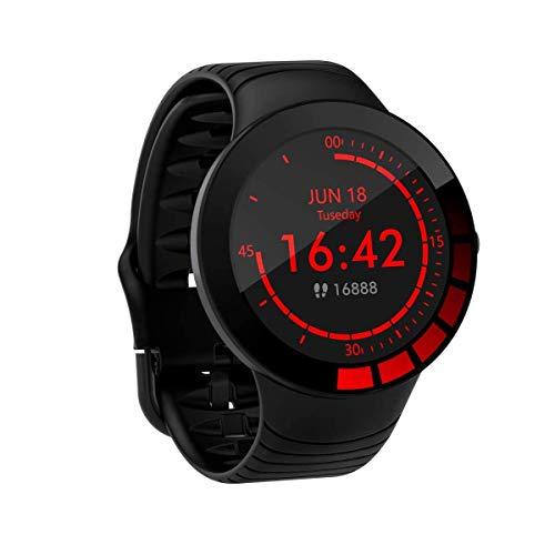 Zeerkeer Smartwatch, wasserdicht, IP68, Sportuhr, Fitnessuhr, mit Touchscreen, Pulsmesser, Stoppuhr, Benachrichtigung bei Anrufen und Nachrichten, für Android und iOS