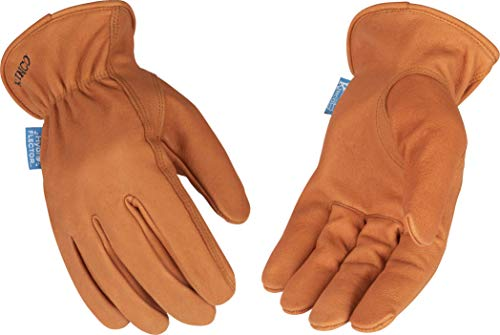 Kinco - Hydroflector Unlined Buffalo Leather Work Gloves, (381P)