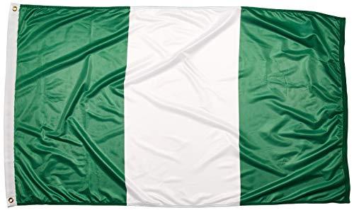 US Drapeau Store Nigeria Drapeau 0,9 x 1,5 m Polyester
