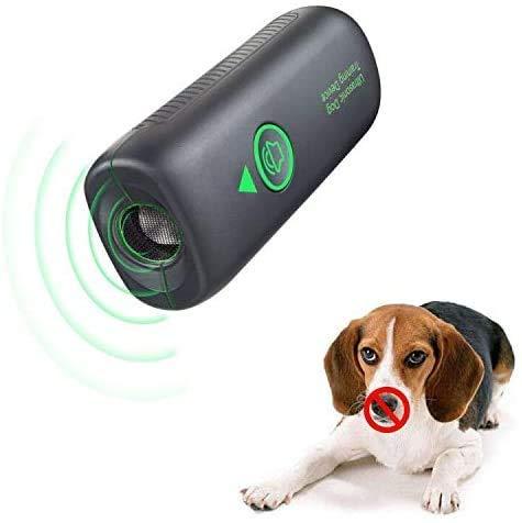 Wango Antibell, Ultraschall-Anti-Bellgerät, Wiederaufladbarer Bellenstopper, Wasserdichtes Hundebellen-Abschreckmittel, Sicheres und Menschliches für Kleine bis Große Hunde, Innen- und Außenbereich