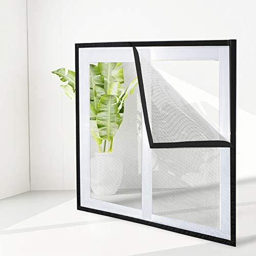 DUCHEN Transparentes Katzenschutznetz für Fenster, Fliegengitter, selbstklebend, Insektenschutz, Moskitonetz, kann zugeschnitten werden, 100 x 120 cm