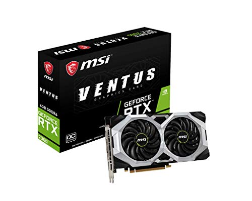 MSI Gaming GeForce RTX 2060 6GB GDRR6 192-bit HDMI/DP...