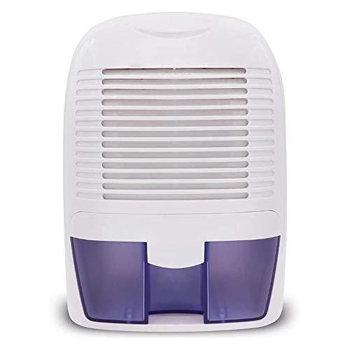 QIYUE Deshumidificador 1000ml Compacto y portátil Mini deshumidificador de Aire del Filtro de Aire Ultra silencioso for el Molde húmedo Humedad en Inicio Caravana Oficina Garaje Baño Sótano