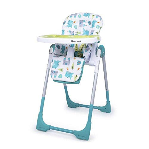 Cosatto Noodle 0+ Highchair - Compact, Height Adjustable, Foldable, Easy...