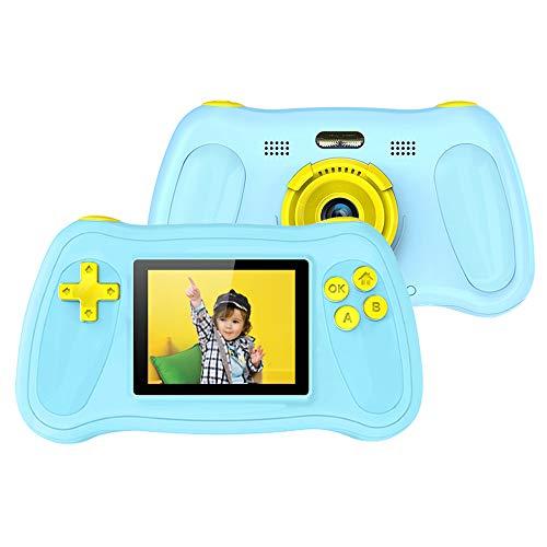Tickas Kinderkamera,Kinderkamera Kinder Digitalkamera 2,4-Zoll-Camcorder 720P Kinderkamera-Spielzeug mit Geschichtenerzähler und Musik-Player 10 Bilderrahmen und 8 Videoeffekte