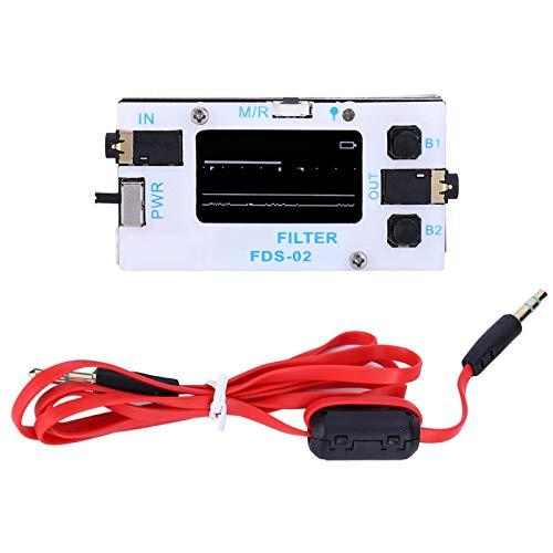 EVTSCAN Último filtro digital, Filtro de procesamiento de señal digital, Filtro digital de radio aficionado SSB CW de frecuencia ajustable, con pantalla OLED, para YAESU/ICOM ft-817 857 897 kx3 ft-818