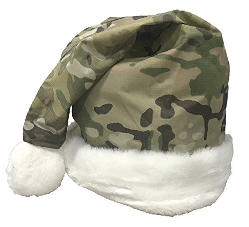 Military Luggage Company Multicam OCP Christmas Santa Hat