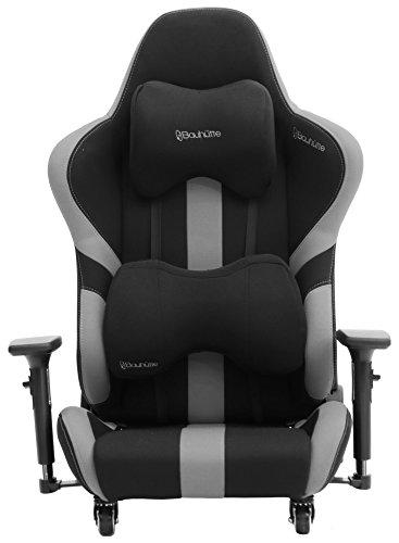 Bauhutte(バウヒュッテ)ゲーミングチェアプロシリーズゲーミング座椅子リクライニング4D稼働アームレスト採用LOC-950RR-BK