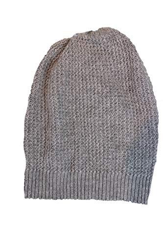 Tchibo TCM Damen Strickmütze Wintermütze Mütze Beanie grau