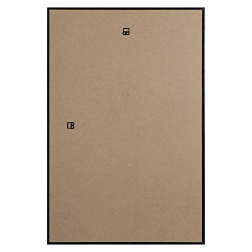 Dax 24x36 Narrow Black Environmentally Friendly Wood Composite Wall Display Poster Frame