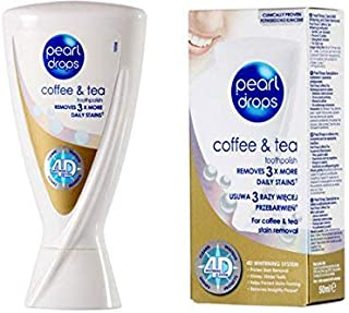 Pearl Drops Toothpaste Coffe and Tea 50ml