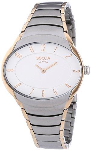 Boccia Damen-Armbanduhr Analog Quarz Titan 3165-12