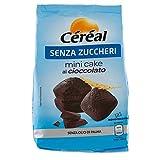 Céréal Mini Cake SENZA ZUCCHERO con Cioccolato UTZ, merendine dolci...