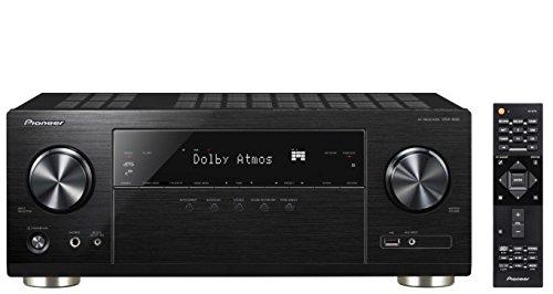 Pioneer VSX-932-B 7.2 Netzwerk AV-Receiver mit Dolby Atmos, Multiroom und integriertem WiFi & Bluetooth unkomplizierten Musik-Streaming schwarz