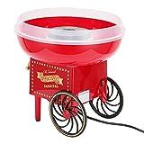 Fabricante de algodón de azúcar, carrito eléctrico de hilo de caramelo fiesta cumpleaños de niños, carrito de máquina de azúcar de algodón profesional con hilo de caramelo, divertido y emocionante(EU)