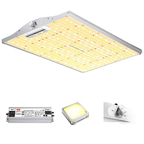 VIPARSPECTRA Latest XS2000 LED Grow Light with Samsung LM301B Diodes & MeanWell Driver, 4x2 ft Coverage Dimmable Full Spectrum Grow Light for Indoor Plants Veg and Bloom Hydroponic Growing Lamps