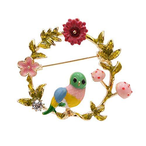 GLKHM Mujer Broches Broches De Aves De Moda Broches De Corona De Mujer Accesorios De Pasador