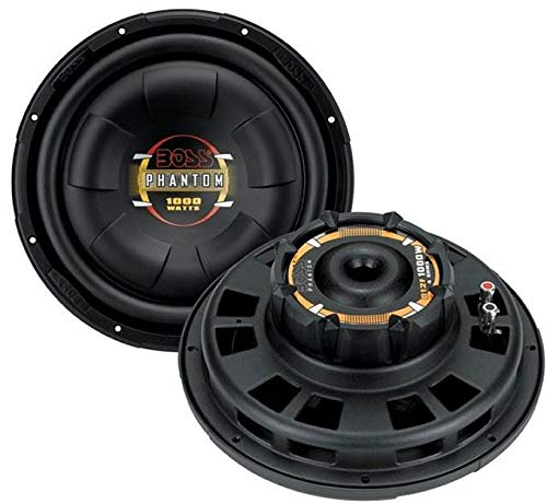 """BOSS D12F 12"""" 2000W Car Audio Shallow Mount Subwoofers Power Subs Woofers"""