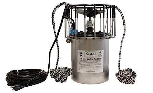 Kasco Marine Deicer 1 HP Lake & Pond De-icer w/ C-20 (120V, 25Ft Power Cord) Water Deicer for Ponds, Lakes & Dock Bubbler