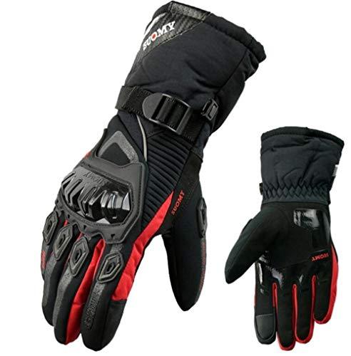 Invierno Caliente Motociclista Guantes Impermeable Y A Prueba De Viento Pantalla Táctil Luva Motociclista Luvas Moto