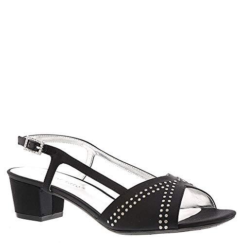 David Tate Women's Heeled Sandals, Black, 8.5 Narrow