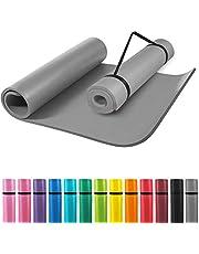 GORILLA SPORTS Yogamat 190 x 60 x 1,5 cm / 190 x 100 x 1,5 cm XL extra dik - gymnastiekmat in 12 verschillende kleuren, antislip en ftalaatvrij