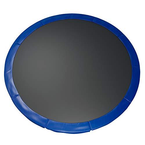 Fast-Jump - Cuscino di protezione delle molle per trampolino, 366 cm, colore: Blu notte