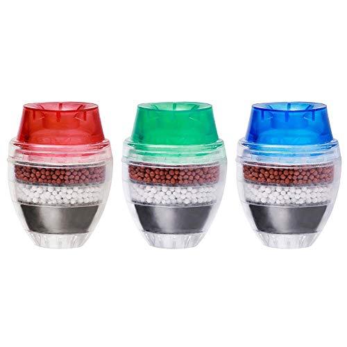 Everpert Aktivkohle-runder Hahn-Wasser-Hahn-Filter-saubere Reinigungsapparat-Filtration