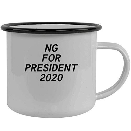 Ng For President 2020 - Stainless Steel 12Oz Camping Mug, Black