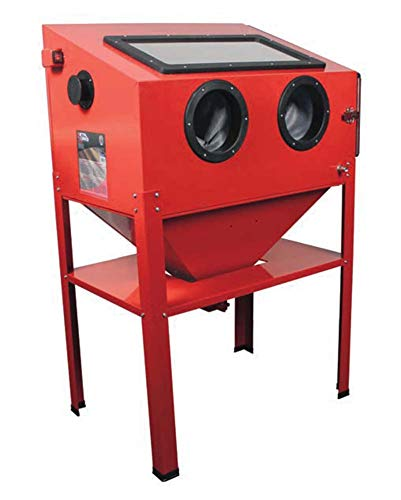 Metalworks CAT410 - Cabina chorreadora de arena 220 l