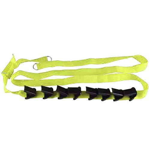 ZYYXB Organizador de zapatos para colgar sobre la puerta, estante para zapatos, organizador de zapatos, correa para la puerta, soporte de almacenamiento, color verde fruta