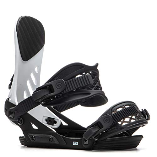 Ride EX Snowboard Bindings 2020 - Men's White/Black X-Large