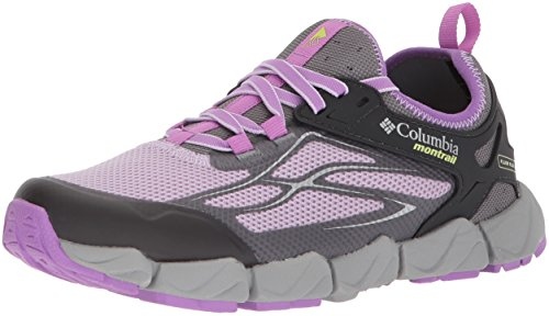 Columbia Women's Fluidflex X.S.R. Trail Running Shoe, Phantom Purple, Nappa Green, 5.5...