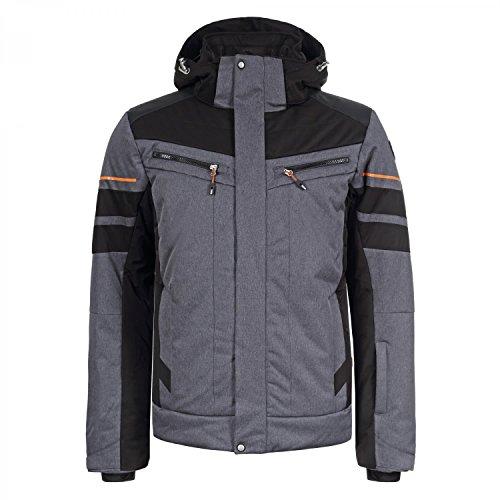 ICEPEAK Herren CASE Jacke, dunkel grau, 52.0