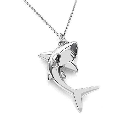 Crystals & Stones *HAI* Silber 925 *Halskette* Schön Damen Halskette - Anhänger Halskette Schmuck Weinachsten Geschenk PIN/75