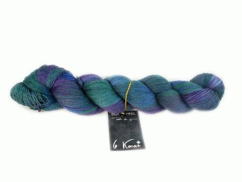 Schoppel-Wolle - Gomitolo di Lana More Green per Uncinetto 6