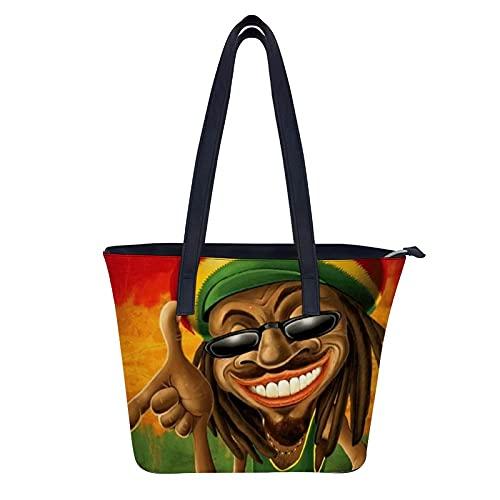 Root Rock Reggae Bolso de hombro para mujer Moda Totes Bolso Para Compras Día de la Madre Regalos