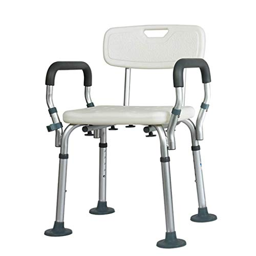 Best Price FENPING Shower Stool Old Man Shower Chair Bathroom Bath Stool Pregnant Women Disable Slid...