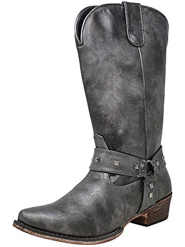 ROPER Women's Nina Black Metallic 5 M US