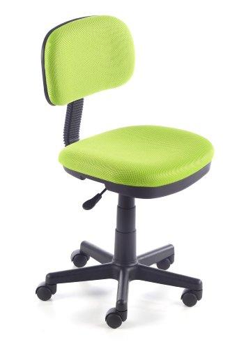 duehome Silla de Escritorio Silla Infantil Malla 3D, Color Verde