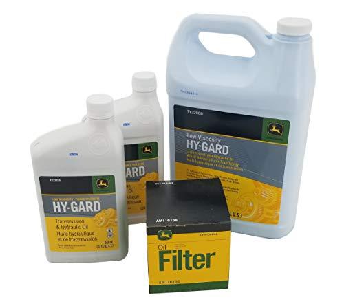 John Deere 425/445/455 AWS Transmission Filter/Oil Kit - AM116156B