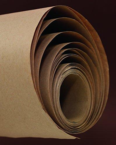 Clairefontaine 395071C Rolle Kraftpapier (ideal für Trockentechnicken, 10 x 0,70 m, 60 g) braun