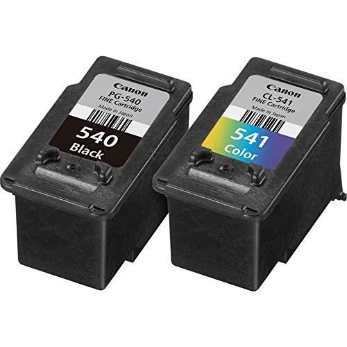Canon PG-540+CL-541 tinta original BK y Tricolor para Impresora Inyeccion tinta Pixma MG2150-2155-2250-2255-3150/55-3250/55-3550-3650-3650S-4150-4250-MX375-395-435-455-475-515-525-535S-TS5150-5151